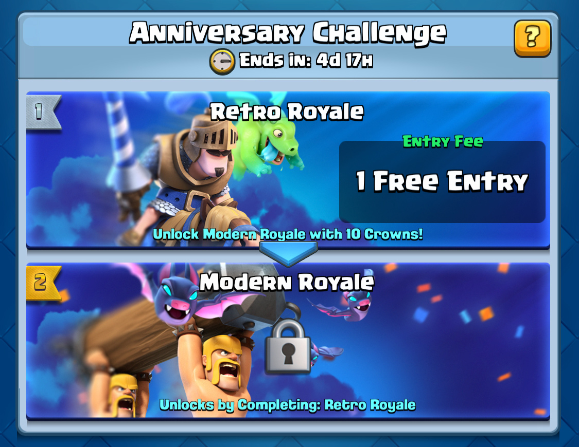 Clash Royale S 2nd Birthday Clash Royale